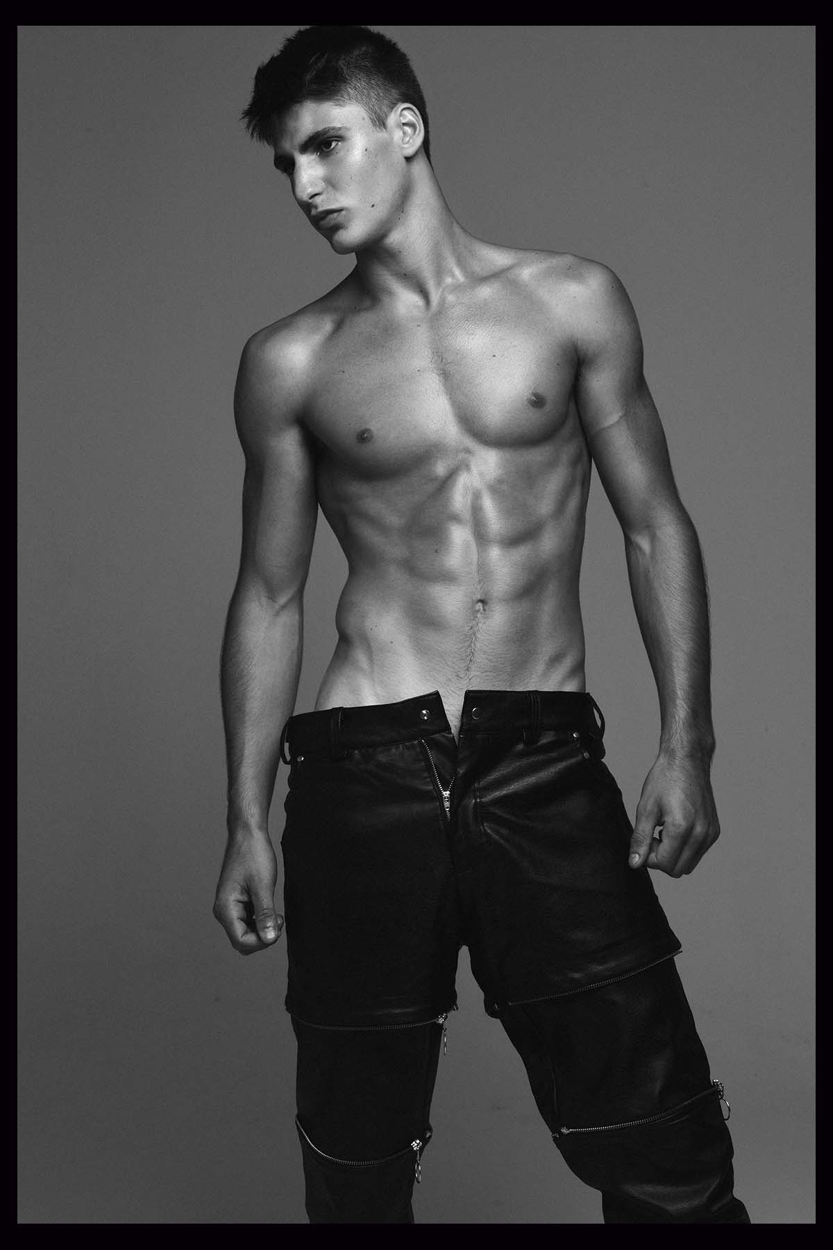 Theo Bove by Hudson Rennan for Brazilian Male Model