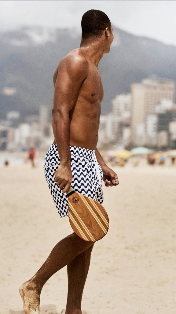 Magdiel Gonçalves by John Balsom for Frescobol Carioca presented at Brazilian Male Model