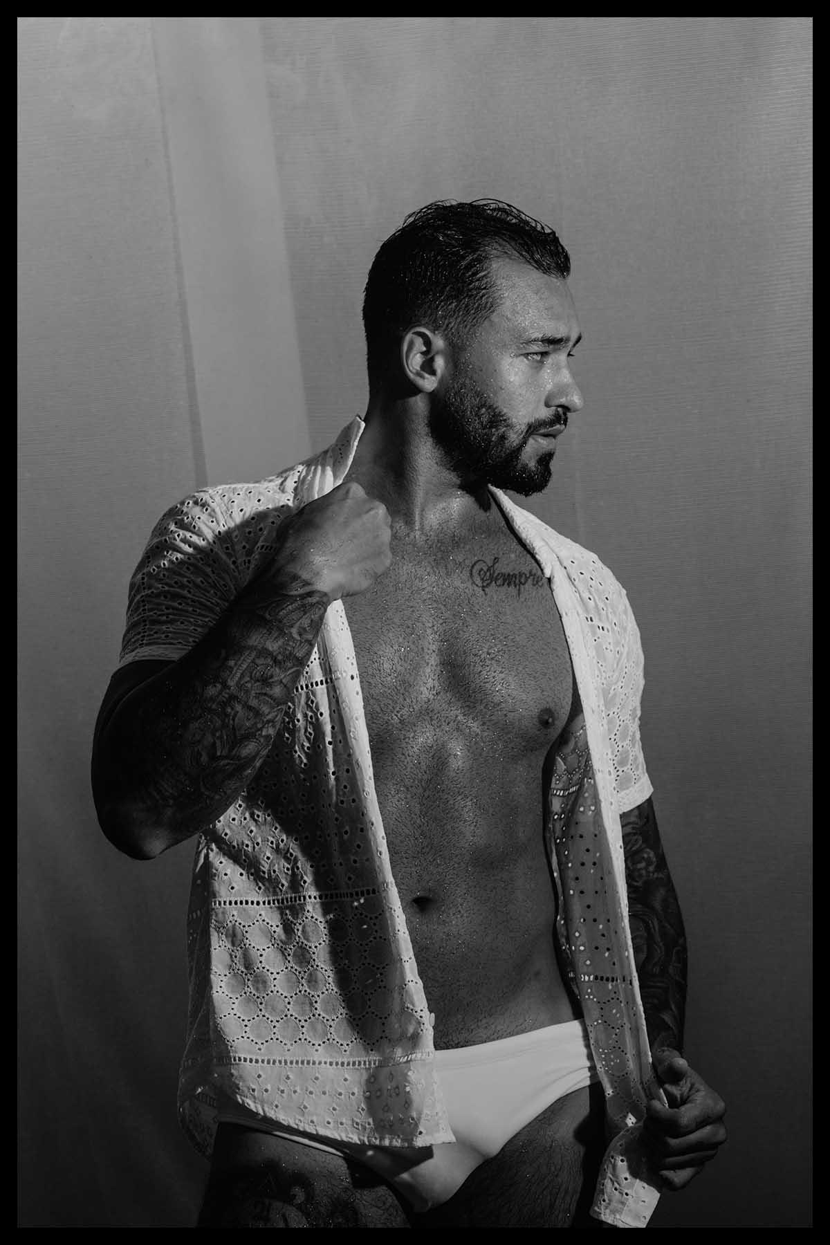 Bruno Mooneyhan by Saulo Rocha for Brazilian Male Model