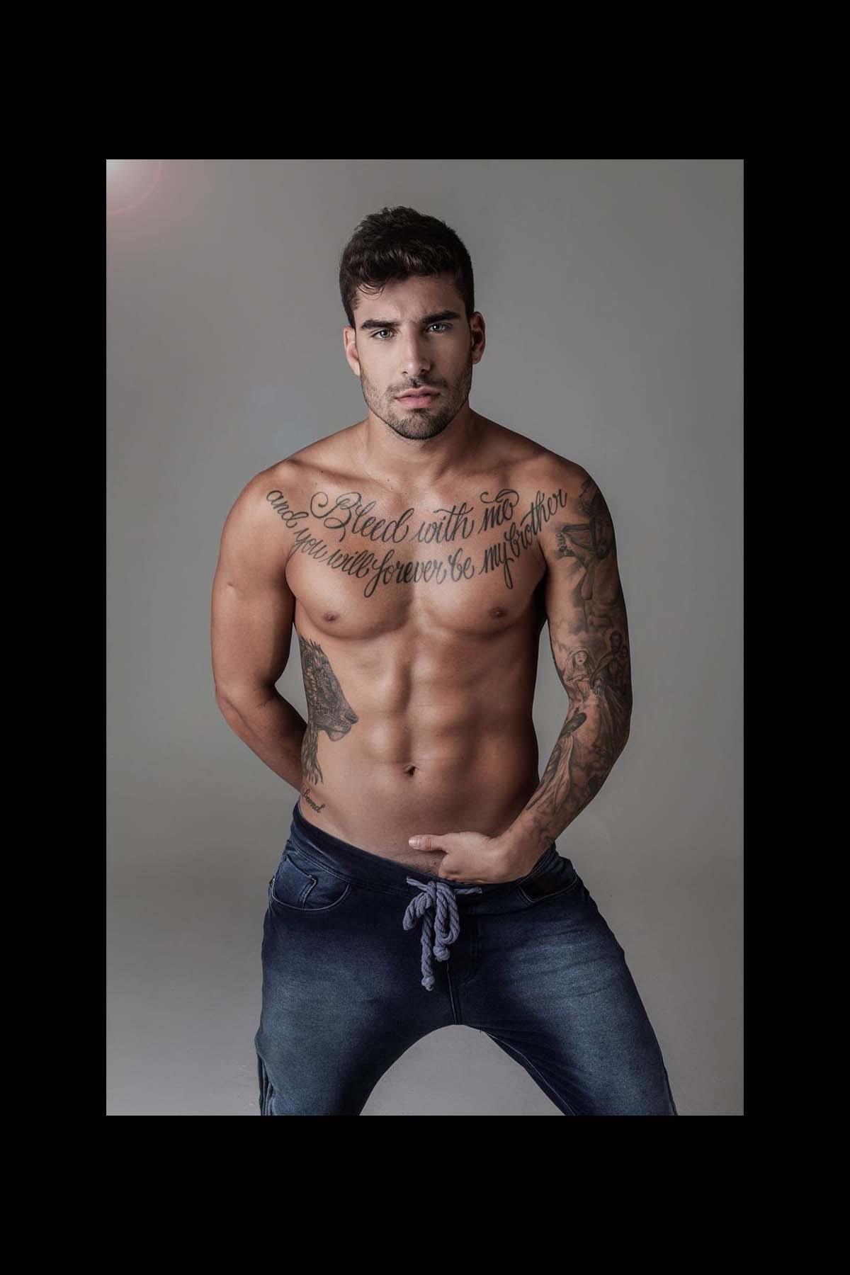 Guilherme Leonel by Marcio Farias for Brazilian Male Model