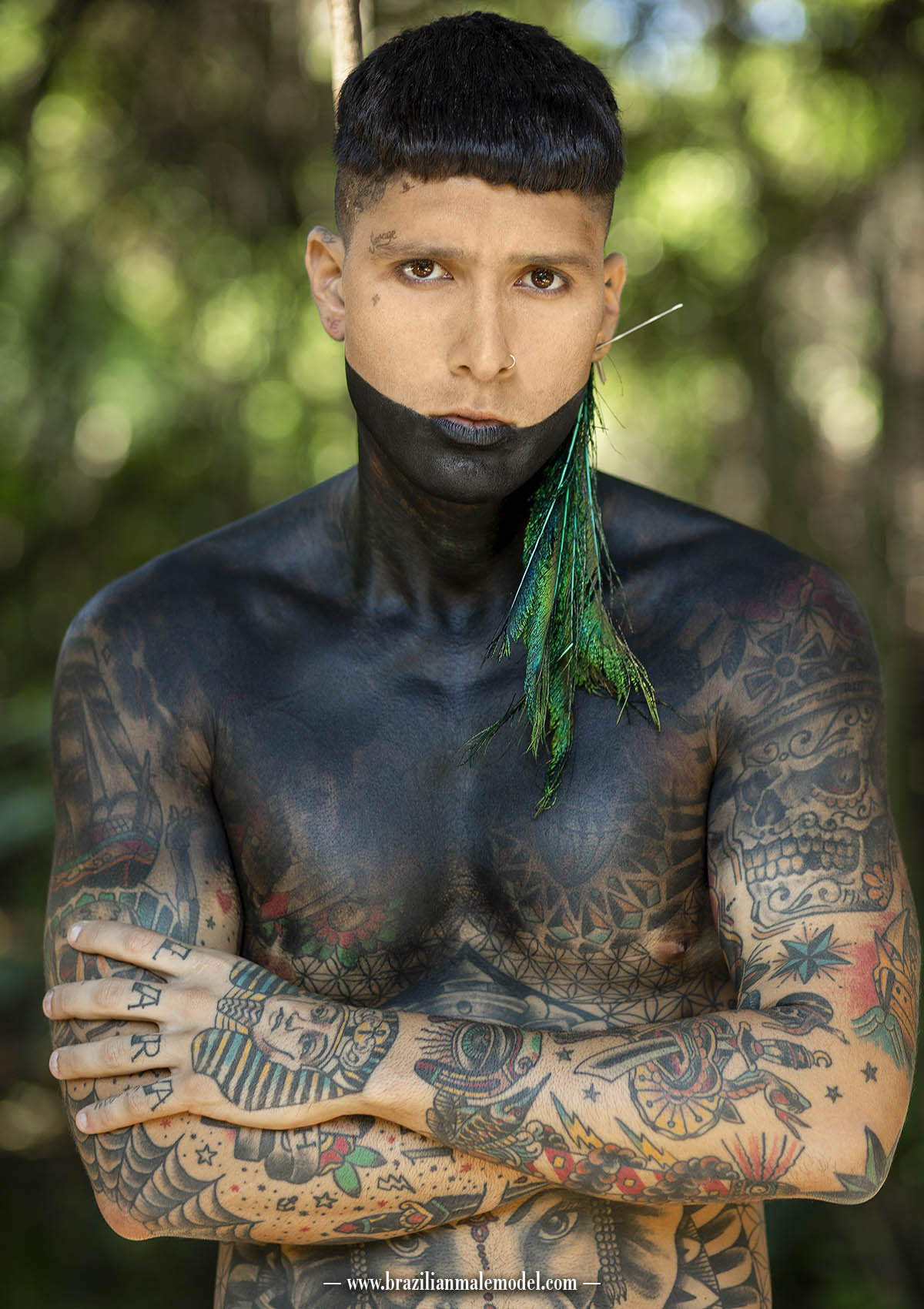 The Cover Thiago Perri by Marcio Farias for Brazilian Male Model
