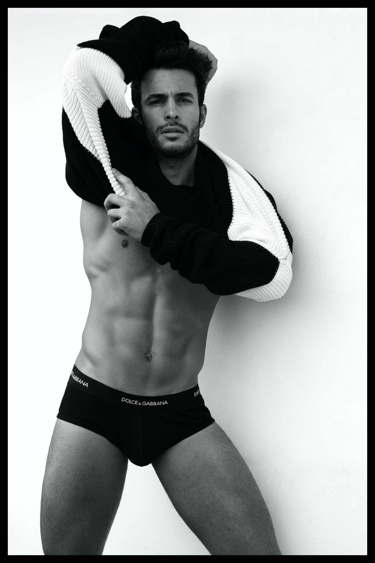 Renato Freitas by Wong Sim for Brazilian Male Model with Dolce&Gabbana