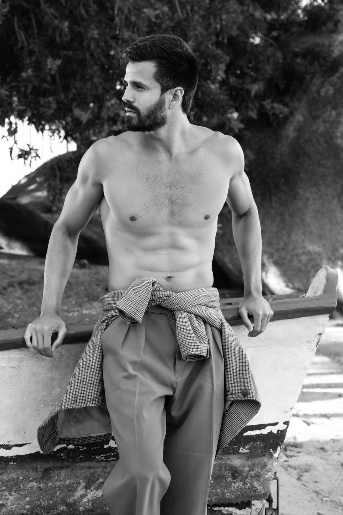Daniel Maimone by Felipe Valim for Brazilian Male Model