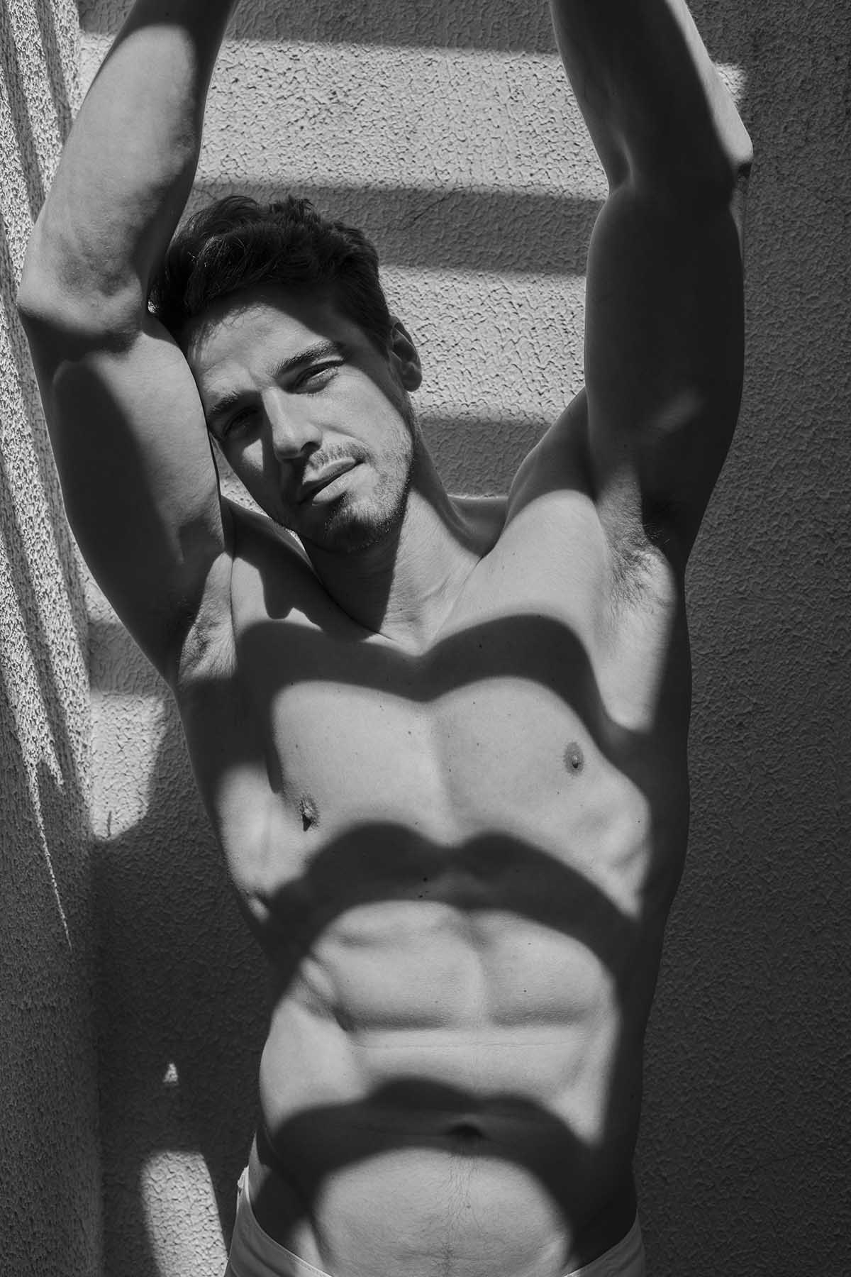 Matheus Nagel by Lucas Silvestre for Brazilian Male Model