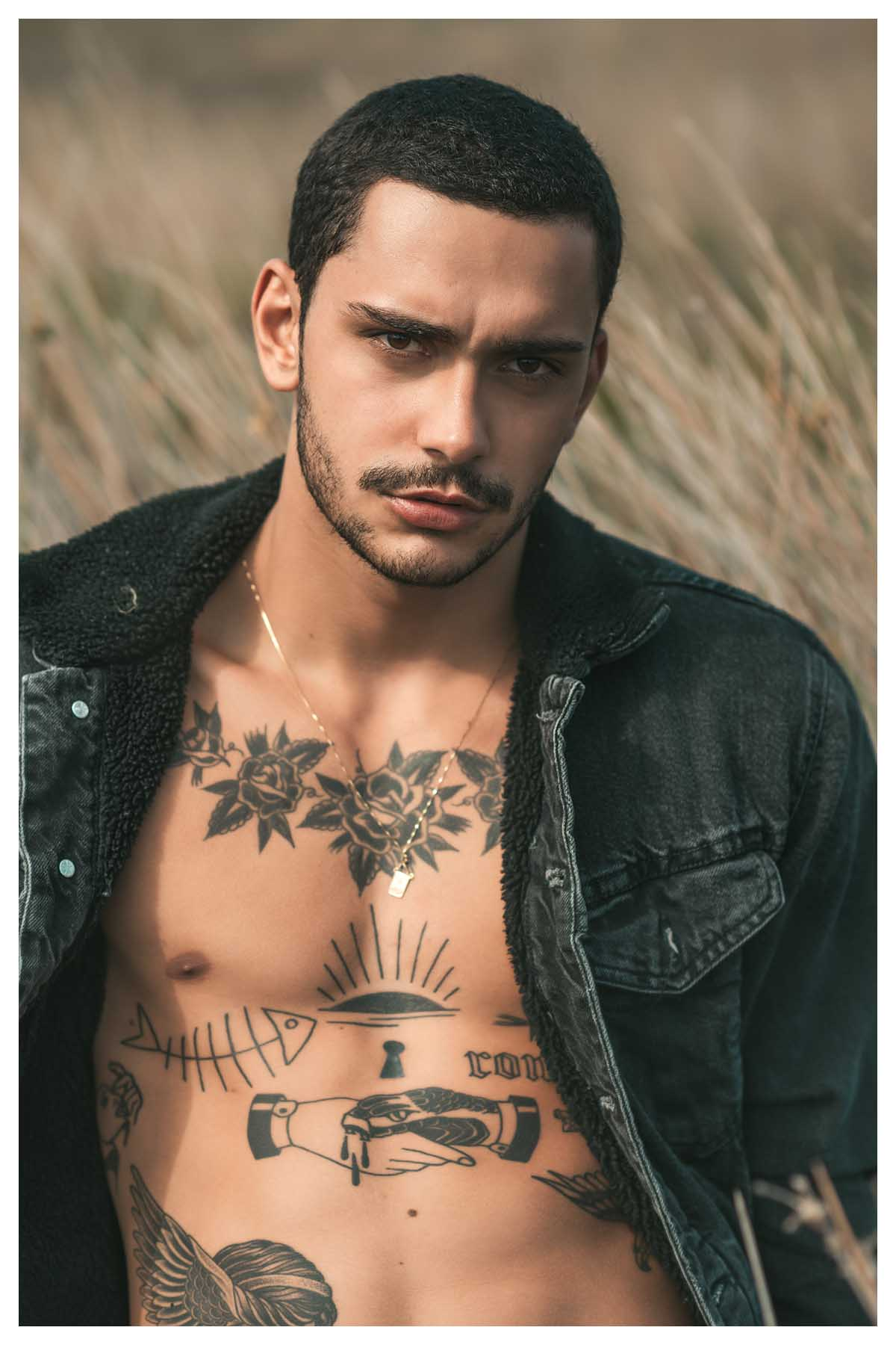 Bryan Santos by Felipe Valim for Brazilian Male Model