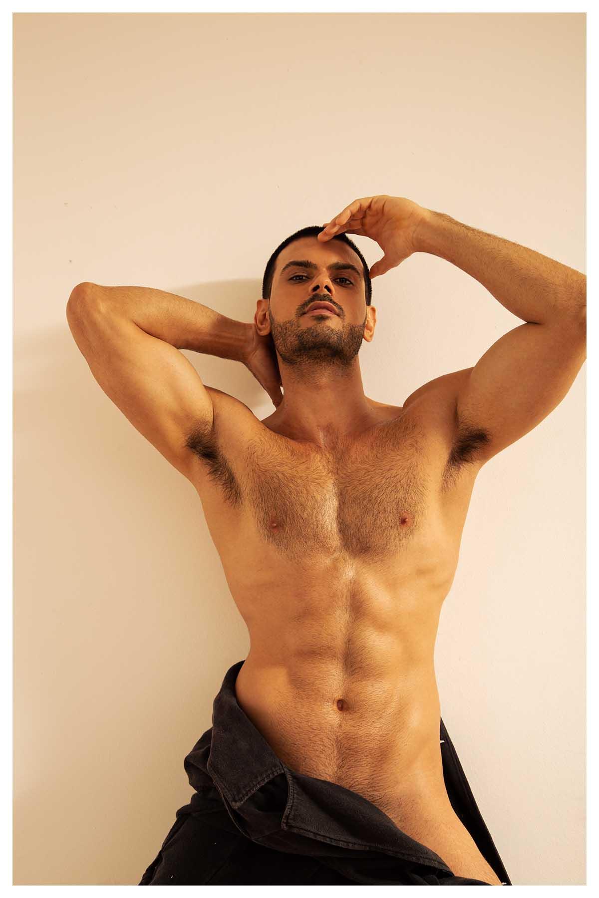 Naian Cestaro by Bruno Barreto for Brazilian Male Model