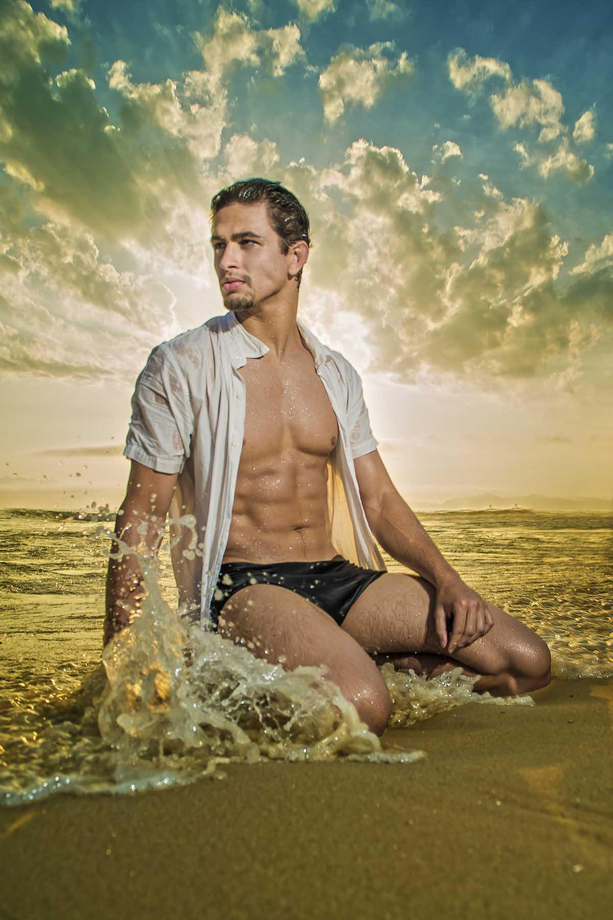 Gabriel Galindo by Carlos Costa for Brazilian Male Model