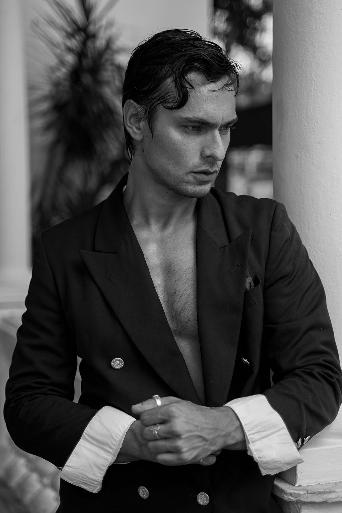 Leandro Juliani by Nelson Felix for Brazilian Male Model