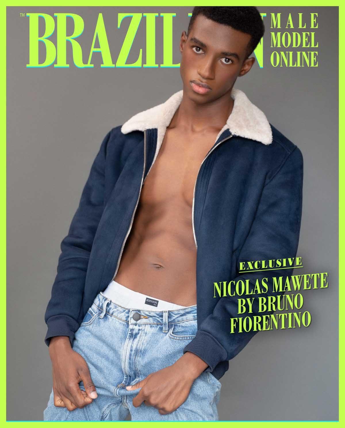 Nicolas Mawete by Bruno Fiorentino
