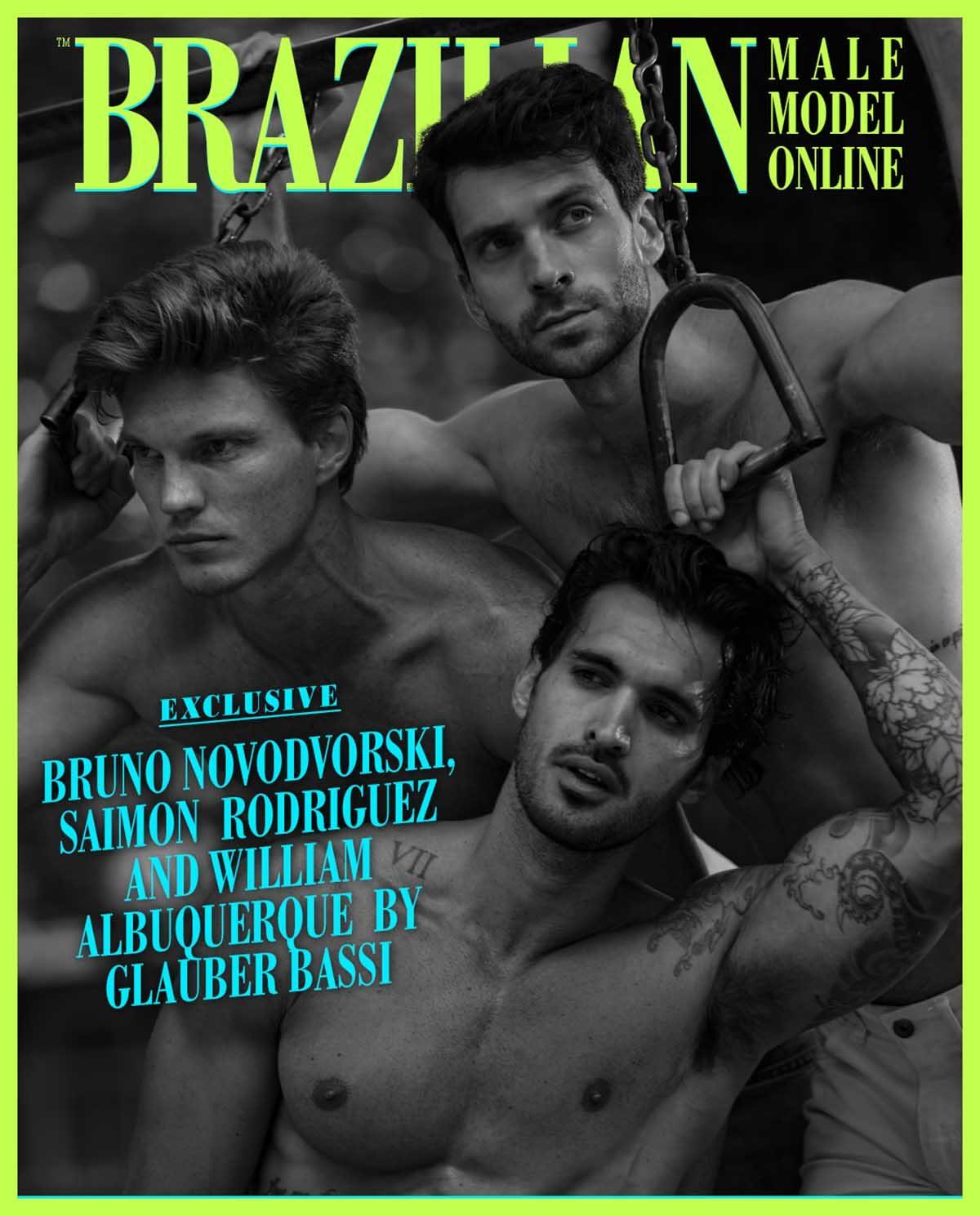 Bruno Novodvorski, Saimon Rodriguez and William Albuquerque by Glauber Bassi